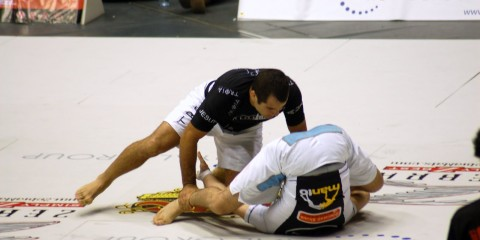 Ryan Hall and his inverted guard