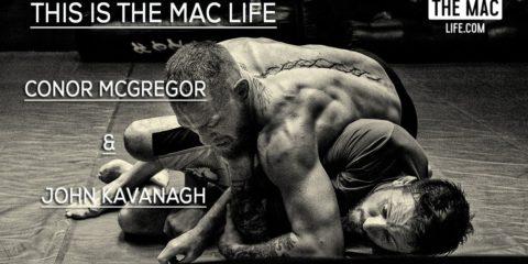 Конор Макгрегор подтягивает Джиу-Джитсу перед реваншем с Диазом
